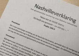 Het begin van de Nashvilleverklaring