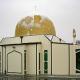 Een van de getroffen moskeeën in Nieuw-Zeeland