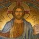 Een mozaïek van Jezus