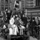 Bevrijdingsfeest in Amsterdam, mei 1945