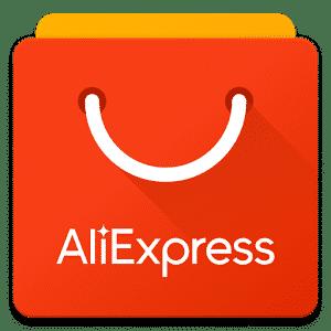 Het logo van AliExpress