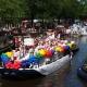 Pride Amsterdam, de botenparade in de grachten