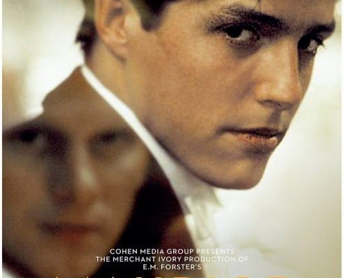 Poster van de film 'Maurice' met de hoofdrolspelers