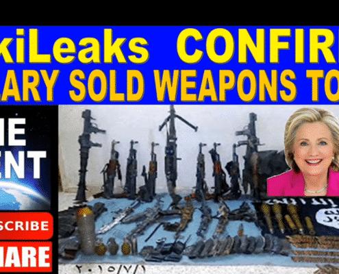 Nepnieuwsbericht over wapenverkoop aan IS door Hillary Clinton