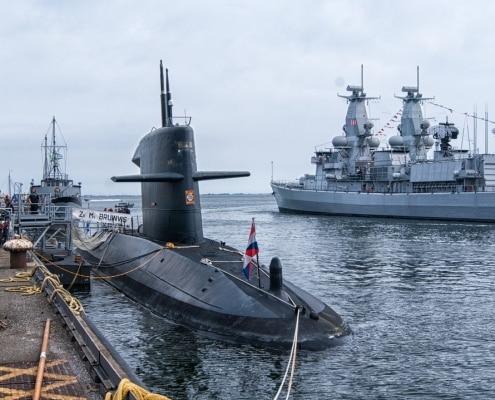 De Nederlandse onderzeeboot Bruinvis