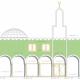 De te bouwen moskee in Assendelft
