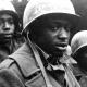 Enkele Afro-Amerikaanse soldaten tijdens de Tweede Wereldoorlog