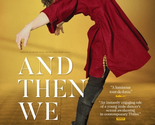 Filmposter van 'And then we danced'