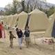 Een vluchtelingenkamp in Pakistan