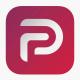 Het logo van Parler