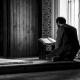 Een moslim in gebed