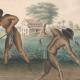 Een van de afbeeldingen in het Rijksmuseum over slavernij
