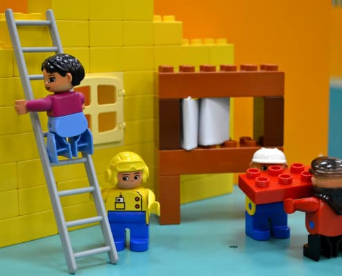 Speelgoedpoppetjes van Lego
